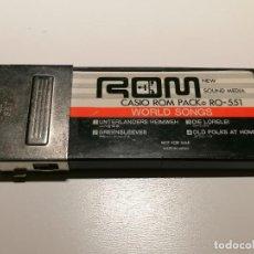 Instruments Musicaux: CASIO ROM PACK PARA ORGANO RO-551 WORLD SONGS. Lote 261145705