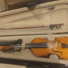 Instrumentos musicales: VIOLIN 1/4 PALATINO EN SU ESTUCHE COMPLETO Y PROBADO FUNCIONA. Lote 261151025