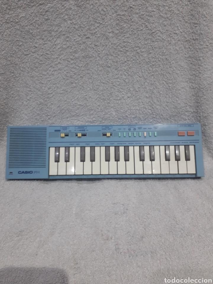 TECLADO CASIO PT-1 COLOR AZUL AÑOS 80 - ORGANO PIANO PT1 (Música - Instrumentos Musicales - Teclados Eléctricos y Digitales)