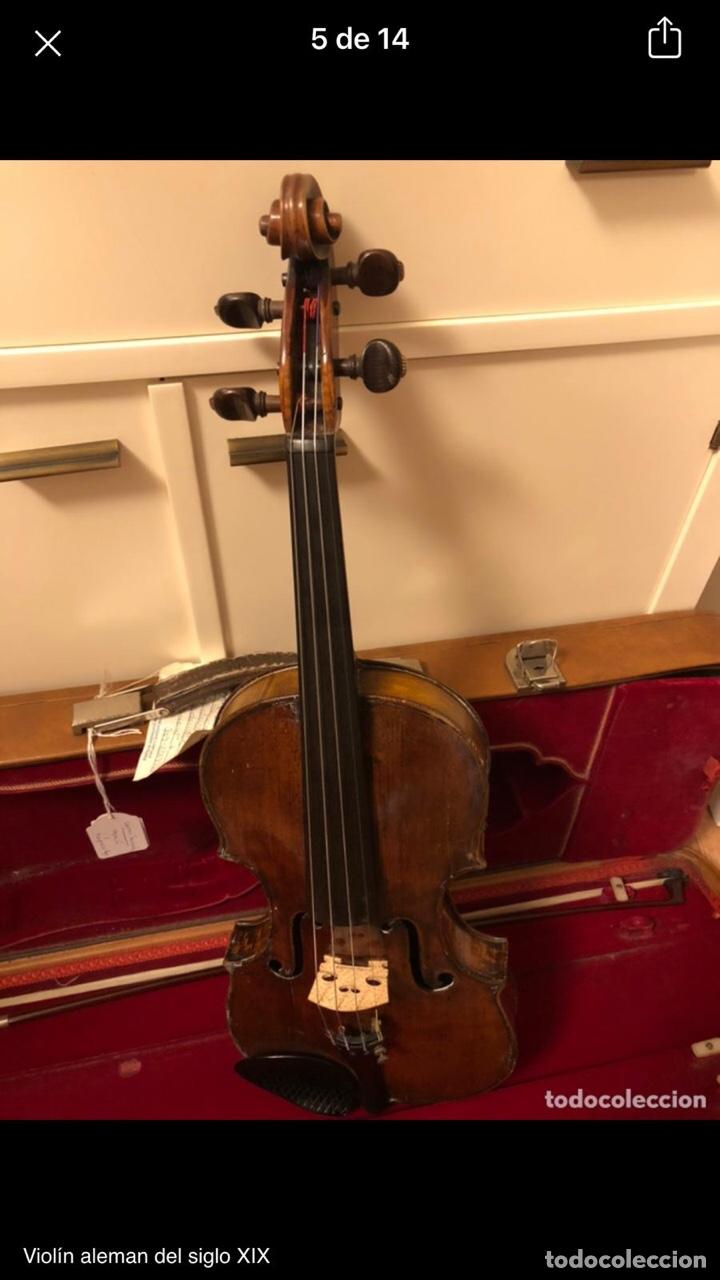 Instrumentos musicales: Violín alemán siglo XIX - Foto 3 - 262042300