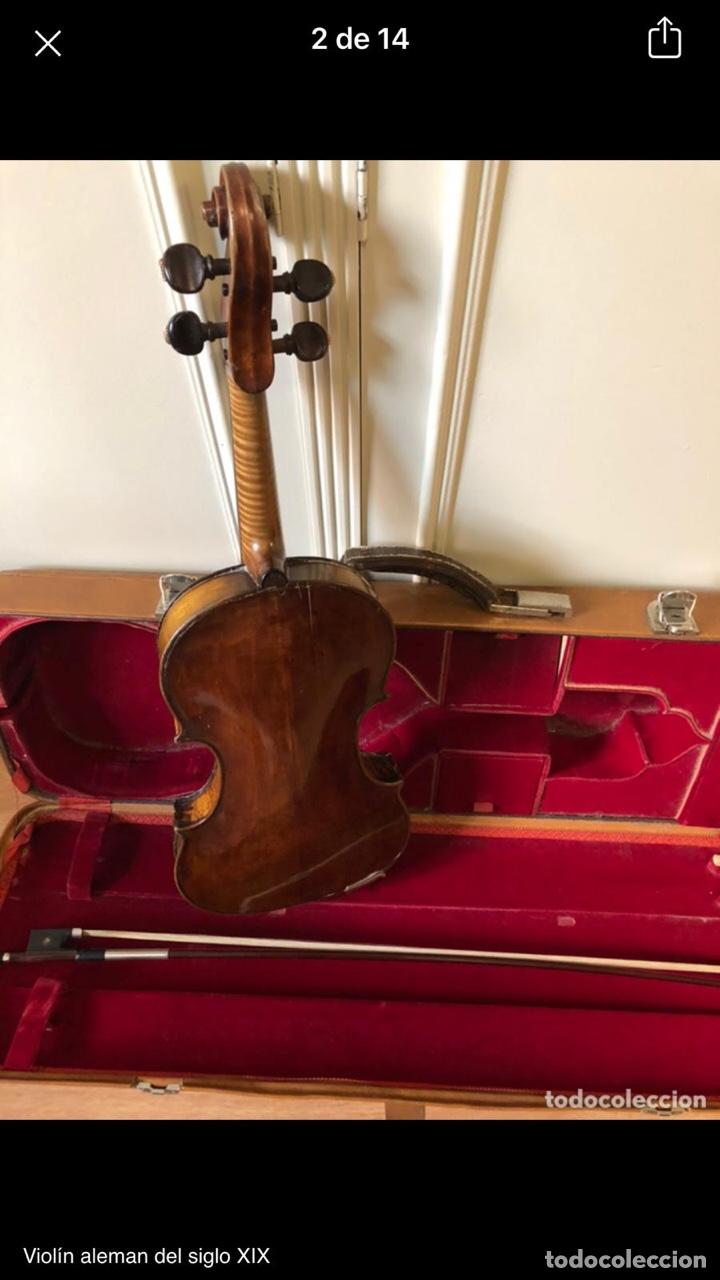 Instrumentos musicales: Violín alemán siglo XIX - Foto 4 - 262042300