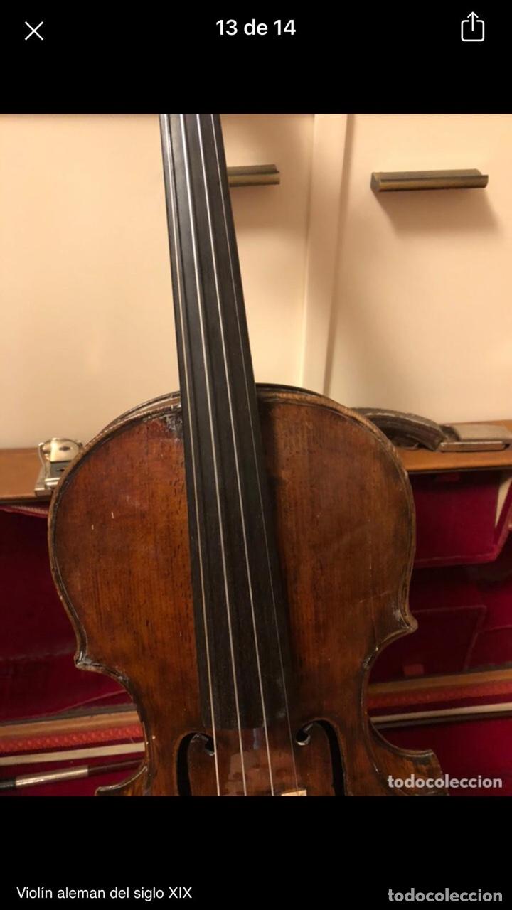 Instrumentos musicales: Violín alemán siglo XIX - Foto 11 - 262042300