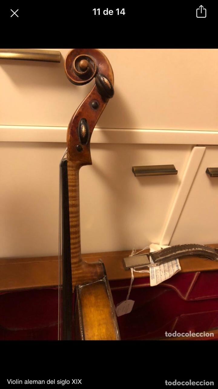 Instrumentos musicales: Violín alemán siglo XIX - Foto 12 - 262042300
