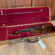 Instrumentos musicales: VIOLÍN ALEMÁN SIGLO XIX. Lote 262042300