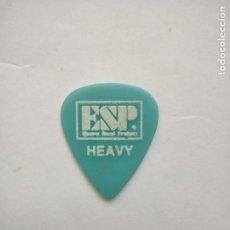 Instrumentos musicales: PUA - ESP HEAVY - PICK. Lote 262555790