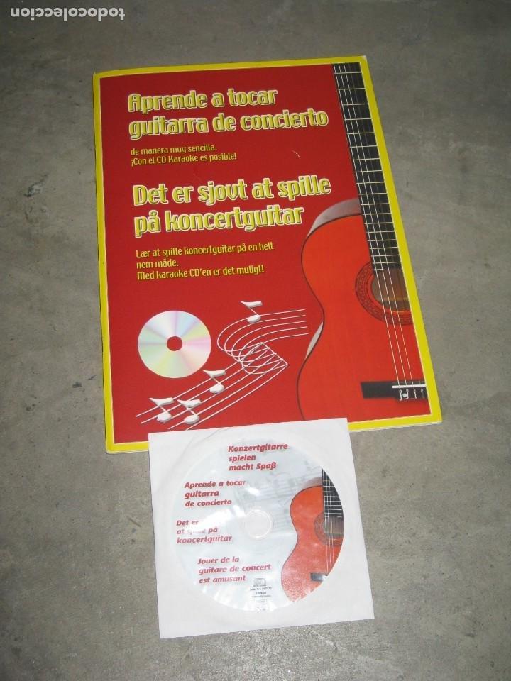 Instrumentos musicales: Guitarra clasica Clifton con curso de guitarra y funda. - Foto 2 - 263574670