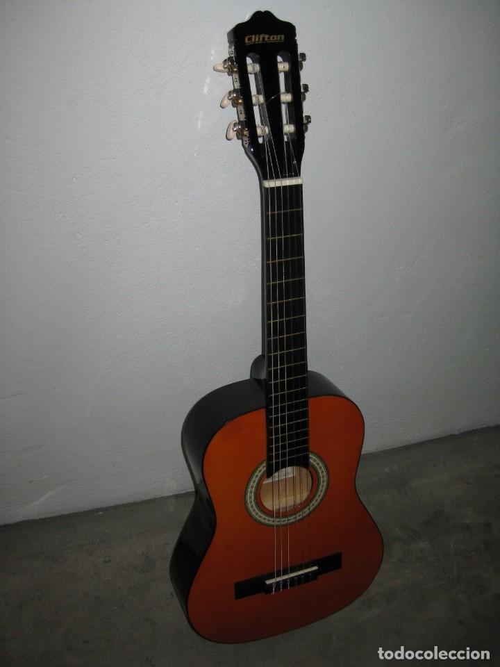 Instrumentos musicales: Guitarra clasica Clifton con curso de guitarra y funda. - Foto 7 - 263574670