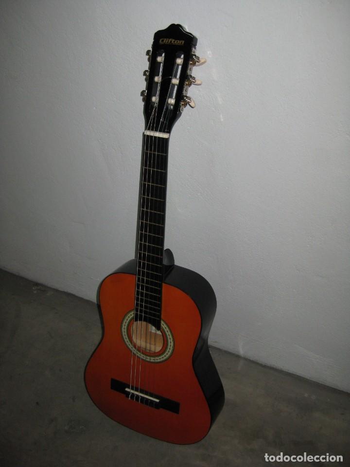 Instrumentos musicales: Guitarra clasica Clifton con curso de guitarra y funda. - Foto 8 - 263574670