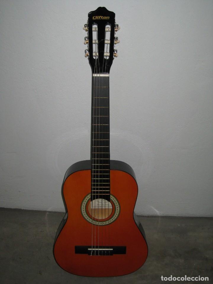 Instrumentos musicales: Guitarra clasica Clifton con curso de guitarra y funda. - Foto 10 - 263574670