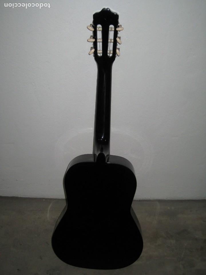Instrumentos musicales: Guitarra clasica Clifton con curso de guitarra y funda. - Foto 11 - 263574670