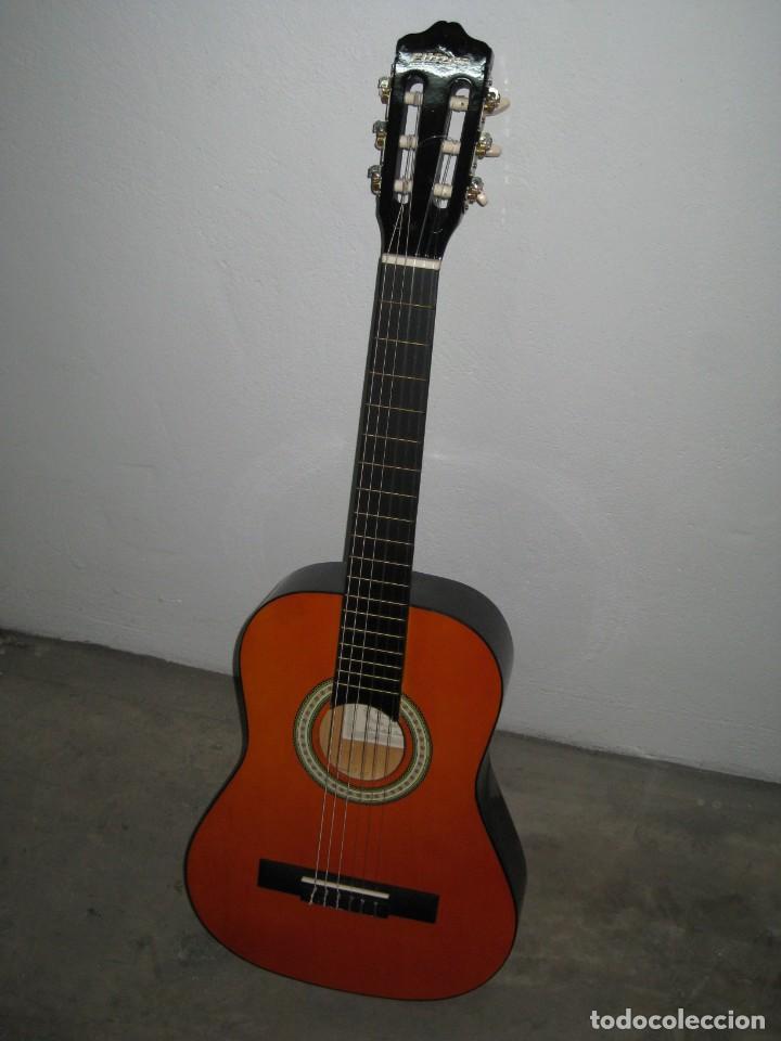 Instrumentos musicales: Guitarra clasica Clifton con curso de guitarra y funda. - Foto 14 - 263574670