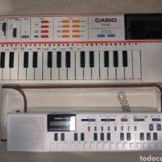 Instruments Musicaux: LOTE 2 ÓRGANOS CASIO PT 82 Y VL TONE FUNCIONANDO. Lote 263583705