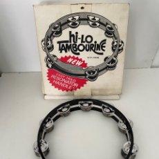 Instrumentos musicales: HILO - TAMBOURINE. Lote 264025660