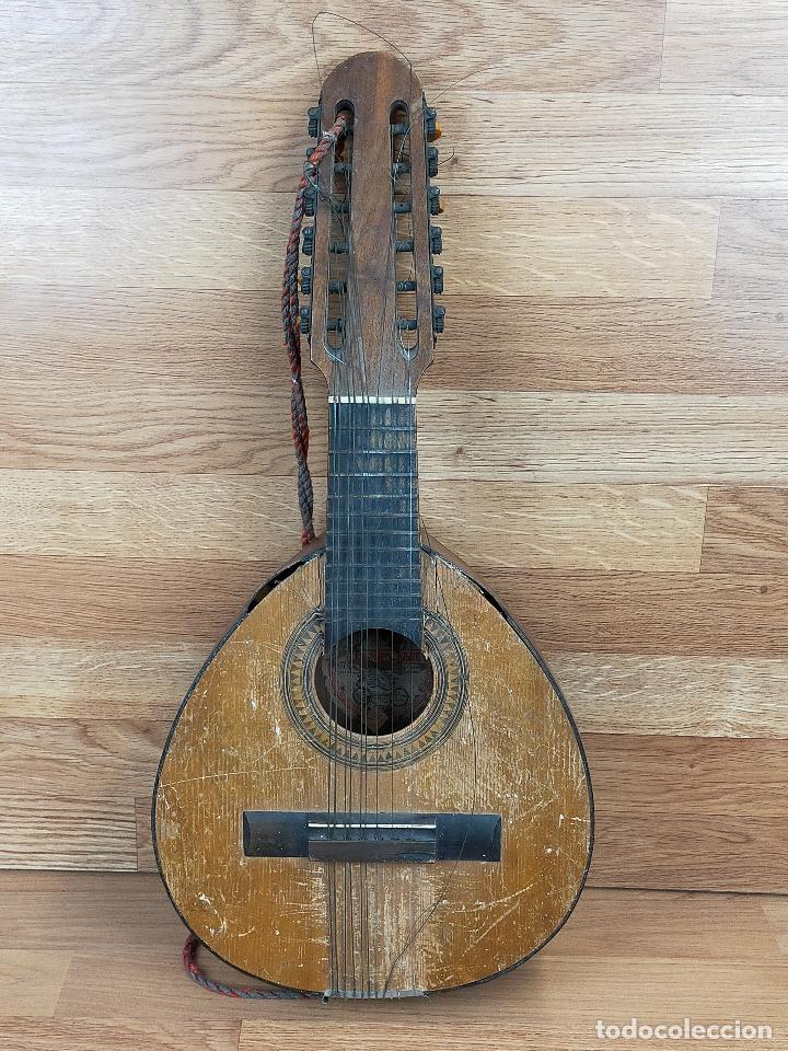 BANDURRIA PARA RESTAURAR (Música - Instrumentos Musicales - Guitarras Antiguas)