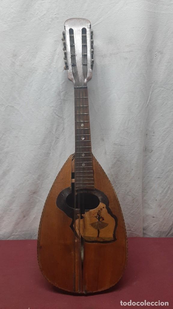 MANDOLINA NAPOLITANA... XIX (Música - Instrumentos Musicales - Cuerda Antiguos)