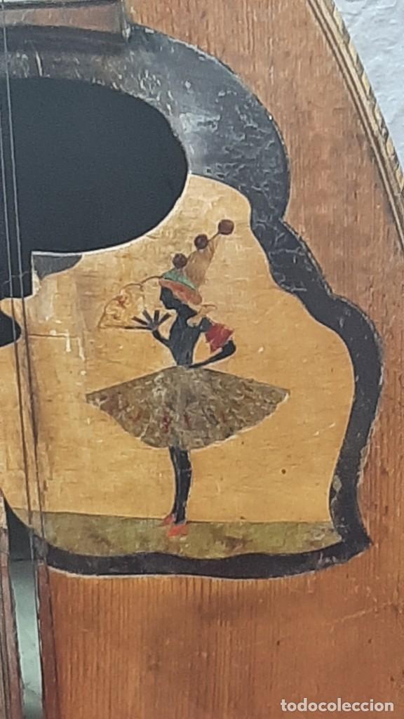 Instrumentos musicales: MANDOLINA NAPOLITANA... XIX - Foto 4 - 264480544