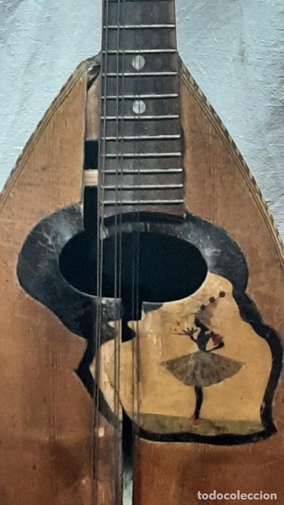 Instrumentos musicales: MANDOLINA NAPOLITANA... XIX - Foto 5 - 264480544