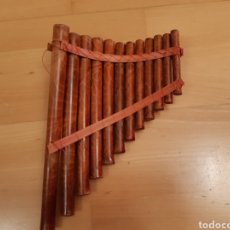 Instrumentos musicales: FLAUTA DE PAN INCA CON 12 TONOS. VER DESCRIPCIÓN. Lote 264805614