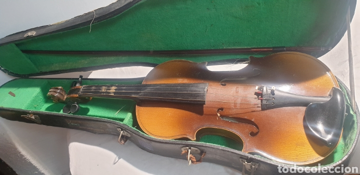 VIOLIN ANTIGUO (Música - Instrumentos Musicales - Cuerda Antiguos)