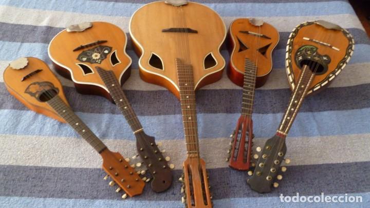 Instrumentos musicales: Lote de 5 mandolinas - Foto 12 - 265548719