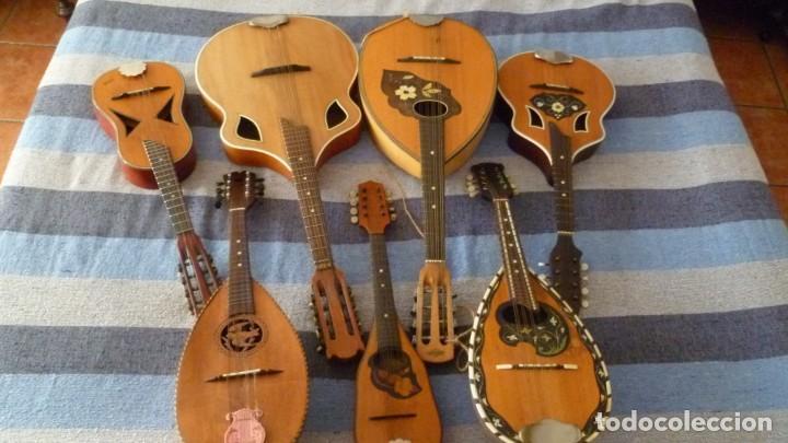 7 MANDOLINAS DEL XIX-XX (Música - Instrumentos Musicales - Cuerda Antiguos)