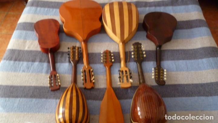 Instrumentos musicales: 7 mandolinas del XIX-XX - Foto 2 - 265549569