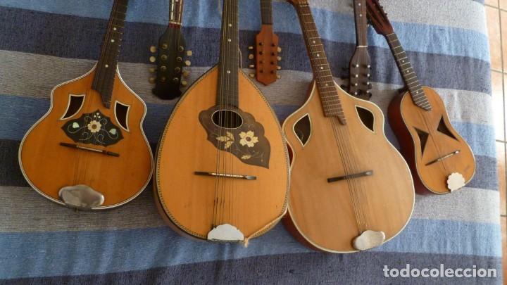 Instrumentos musicales: 7 mandolinas del XIX-XX - Foto 3 - 265549569