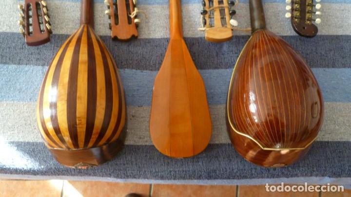 Instrumentos musicales: 7 mandolinas del XIX-XX - Foto 4 - 265549569