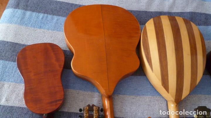 Instrumentos musicales: 7 mandolinas del XIX-XX - Foto 5 - 265549569