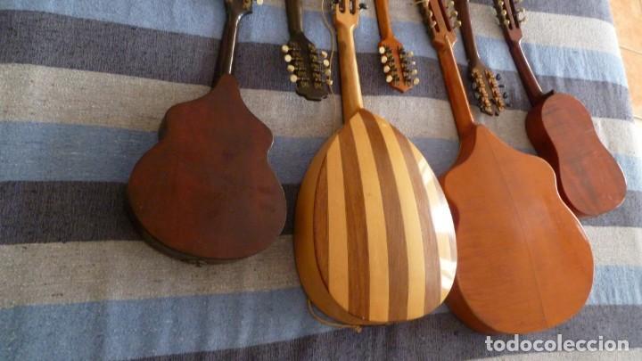 Instrumentos musicales: 7 mandolinas del XIX-XX - Foto 6 - 265549569