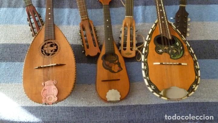 Instrumentos musicales: 7 mandolinas del XIX-XX - Foto 7 - 265549569