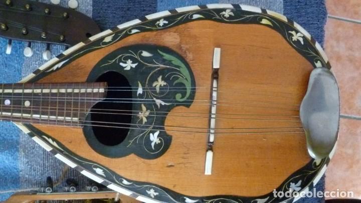 Instrumentos musicales: 7 mandolinas del XIX-XX - Foto 10 - 265549569