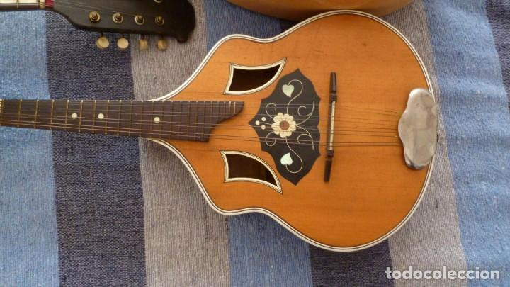 Instrumentos musicales: 7 mandolinas del XIX-XX - Foto 11 - 265549569