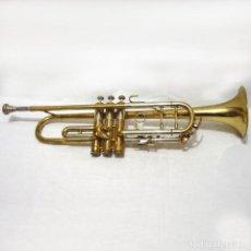 Instruments Musicaux: ANTIGUA TROMPETA CON BAÑO DORADO AMATI KRASLICE - CHECOSLOVAQUIA - CON FUNDA Y BOQUILLA. Lote 265574054