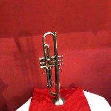 Instruments Musicaux: ANTIGUA TROMPETA FRANCESA GRABADA . VER FOTOS. Lote 265920628