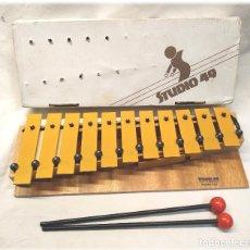 Instrumentos musicales: XILOFON STUDIO 49 GSD, COMO NUEVO PERFECTO ESTADO. Lote 266034488