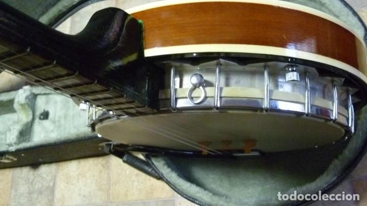 Instrumentos musicales: Antiguo banjo tenor alemán. - Foto 8 - 266045863