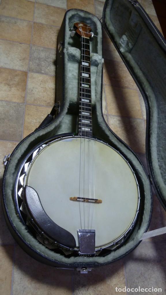 ANTIGUO BANJO TENOR ALEMÁN. (Música - Instrumentos Musicales - Cuerda Antiguos)