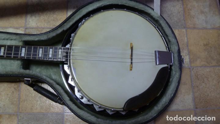 Instrumentos musicales: Antiguo banjo tenor alemán. - Foto 2 - 266045863