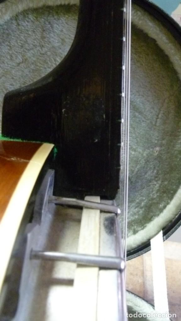 Instrumentos musicales: Antiguo banjo tenor alemán. - Foto 10 - 266045863