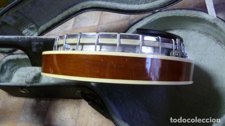 Instrumentos musicales: Antiguo banjo tenor alemán. - Foto 4 - 266045863