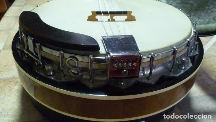 Instrumentos musicales: Antiguo banjo tenor alemán. - Foto 7 - 266045863