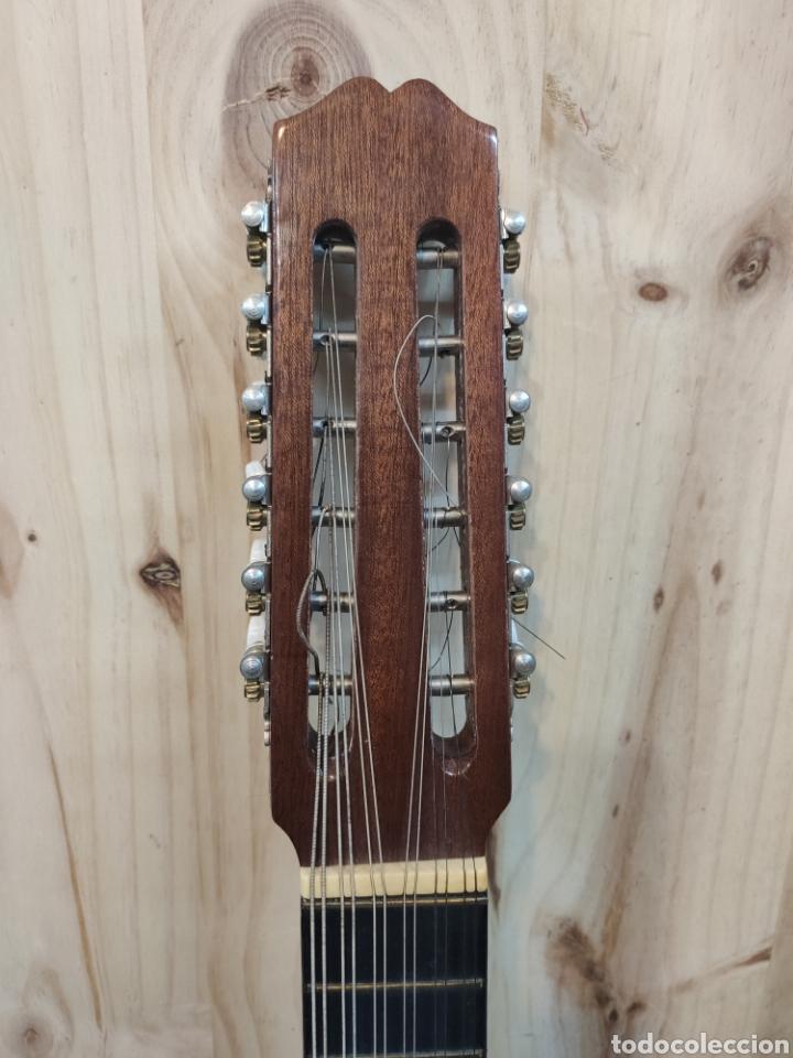 Instrumentos musicales: ANTIGUA BANDURRIA MARCA CAS MIR CASHIMIRA HECHA EN GATA DE GORGOS ALICANTE - Foto 2 - 266141278