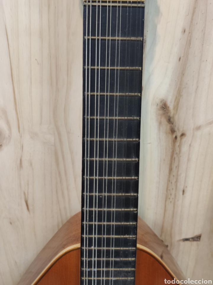 Instrumentos musicales: ANTIGUA BANDURRIA MARCA CAS MIR CASHIMIRA HECHA EN GATA DE GORGOS ALICANTE - Foto 3 - 266141278