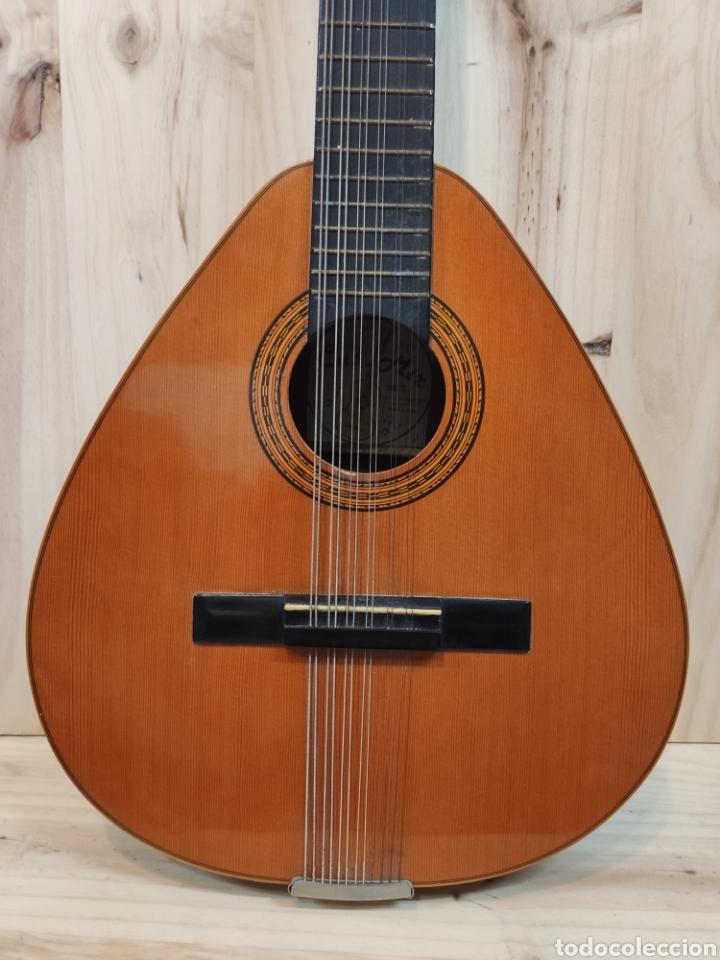 Instrumentos musicales: ANTIGUA BANDURRIA MARCA CAS MIR CASHIMIRA HECHA EN GATA DE GORGOS ALICANTE - Foto 4 - 266141278