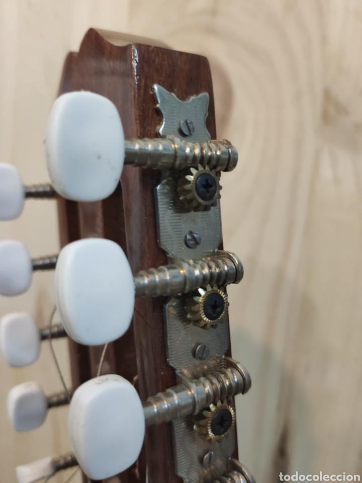 Instrumentos musicales: ANTIGUA BANDURRIA MARCA CAS MIR CASHIMIRA HECHA EN GATA DE GORGOS ALICANTE - Foto 8 - 266141278
