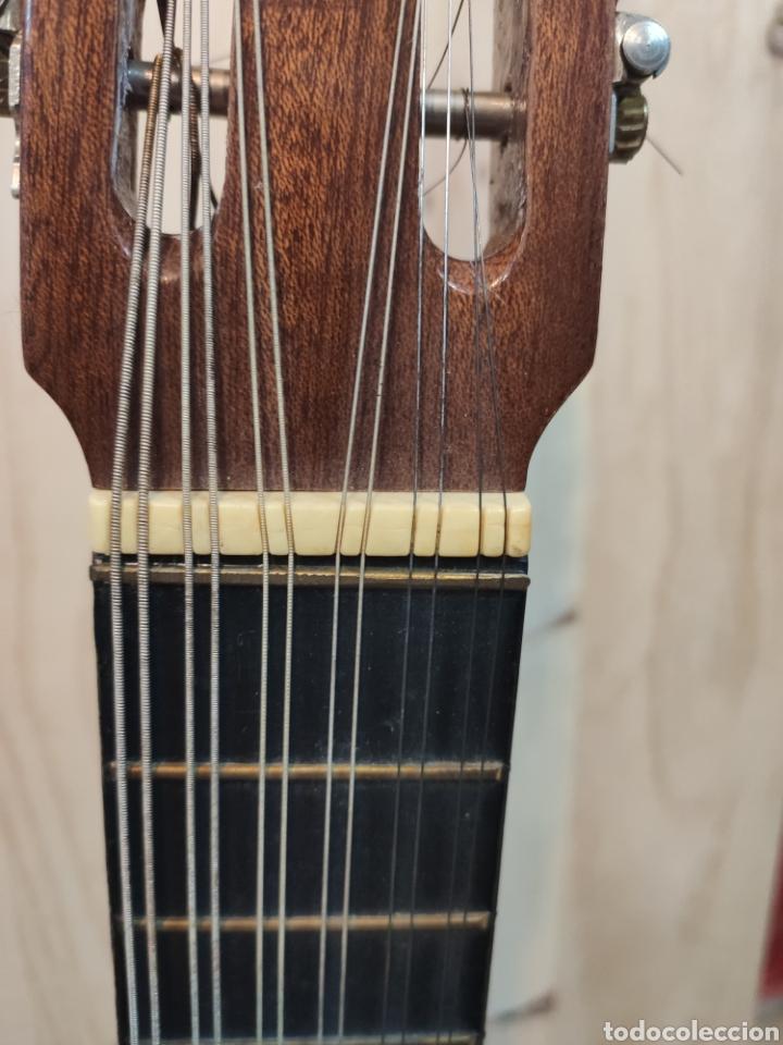 Instrumentos musicales: ANTIGUA BANDURRIA MARCA CAS MIR CASHIMIRA HECHA EN GATA DE GORGOS ALICANTE - Foto 12 - 266141278