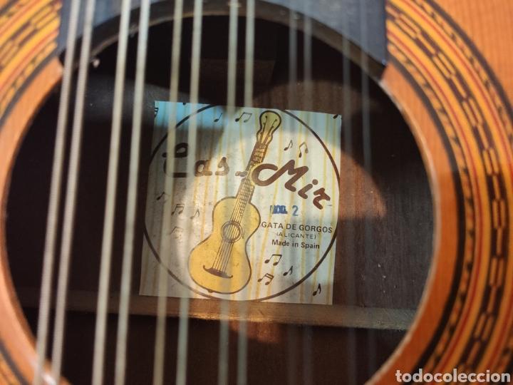 Instrumentos musicales: ANTIGUA BANDURRIA MARCA CAS MIR CASHIMIRA HECHA EN GATA DE GORGOS ALICANTE - Foto 14 - 266141278