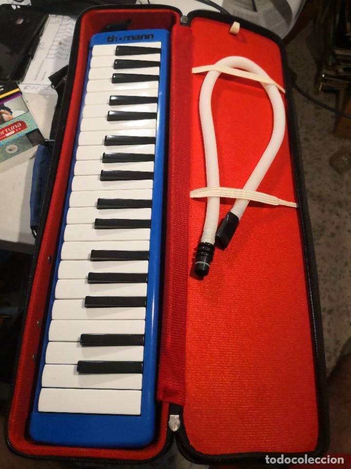 Instrumentos musicales: THOMANN CON SU FUNDA Instrumento de Piano con 37 teclas, doble boquilla, órgano de Piano, MELÓDICA - Foto 2 - 266167933
