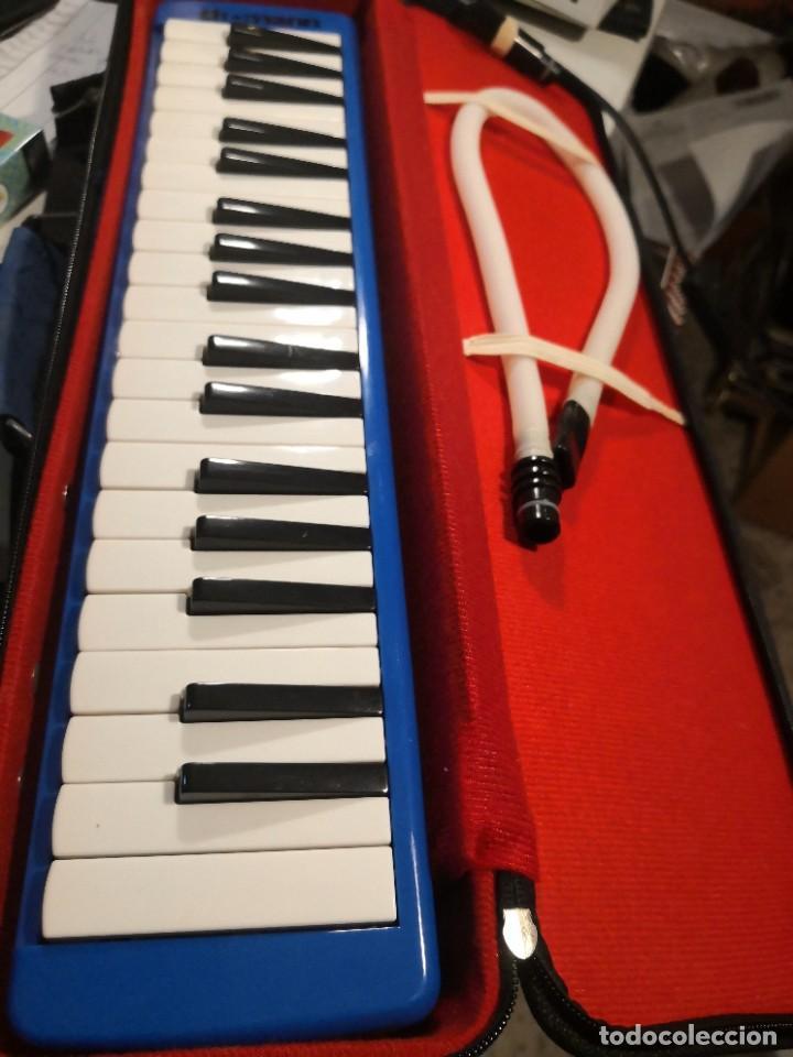 Instrumentos musicales: THOMANN CON SU FUNDA Instrumento de Piano con 37 teclas, doble boquilla, órgano de Piano, MELÓDICA - Foto 4 - 266167933